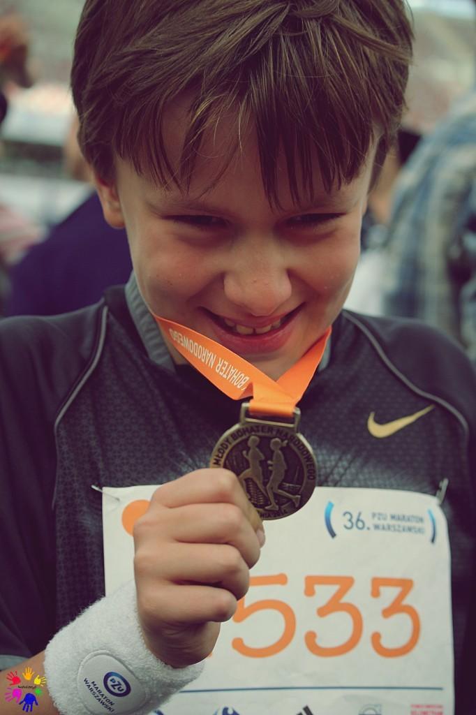 usmiech medal
